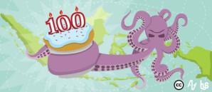Indonesia 100 tahun